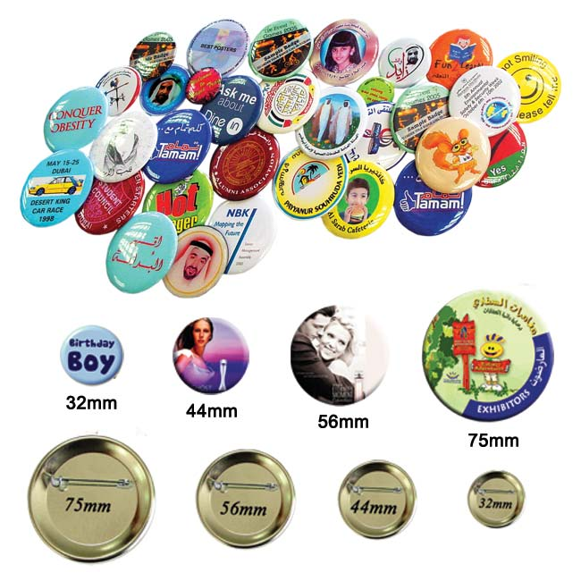 Button Badges Different Sizes in Gulf Line Printjng.jpg