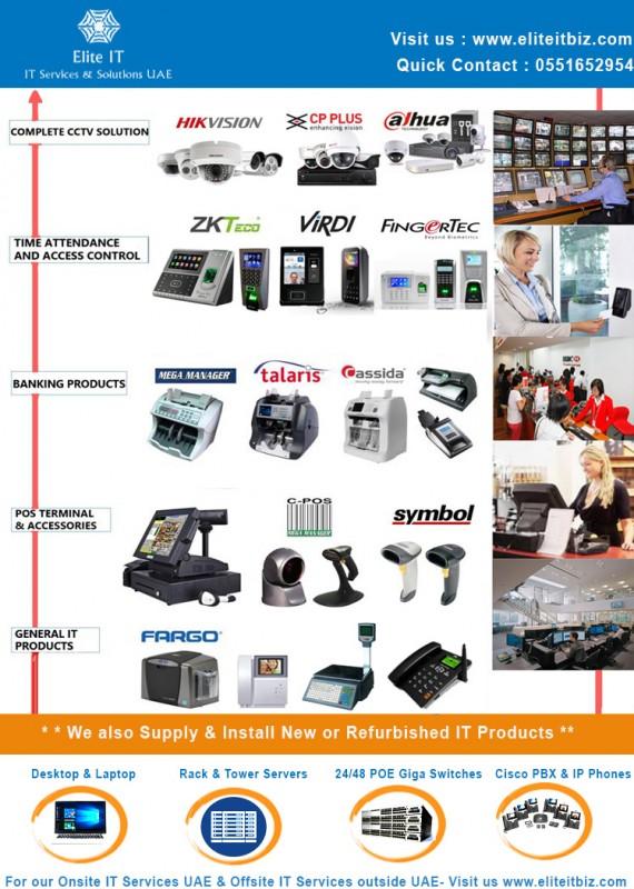 CCTV Cameras - Fingerprinter Access Control-POS Terminal-General IT Products Sharjah UAE.jpg